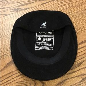 Black Kangol wool hat